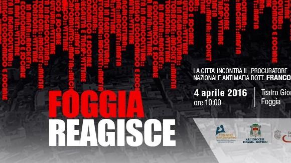 La città di Foggia incontra il Procuratore Nazionale Antimafia.
