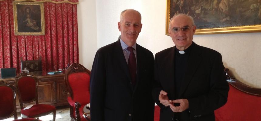 Confronto con il prefetto Franco Gabrielli : la Chiesa foggiana determinata a proseguire l'azione di contrasto a criminalità ed illegalità.